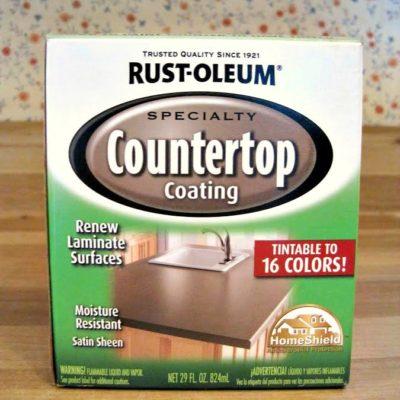 Rustoleum speciality countertop coating painted countertops