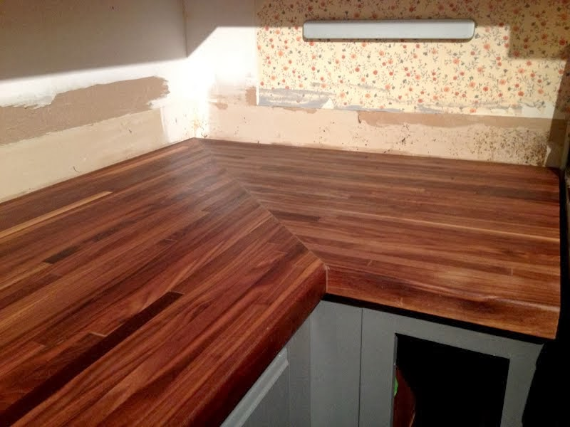 How I Protect And Clean My Butcher Block Counters Ugly