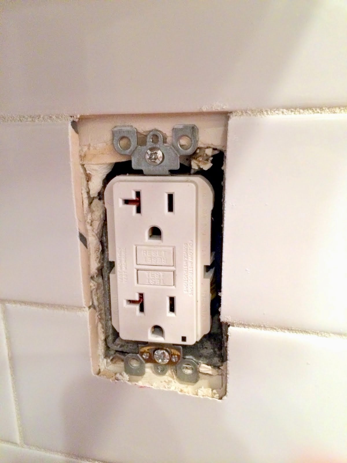 How To Extend An Outlet After Tiling And Fix A Loose Outlet