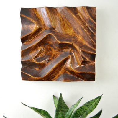 diy carved wood wall art - woodworking how to - Ugly Duckling House