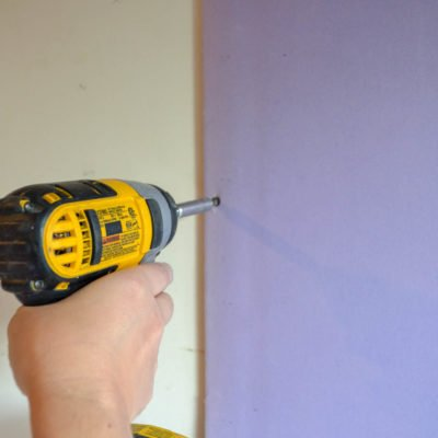screwing soundbreakxp retrofit over drywall with drywall screws