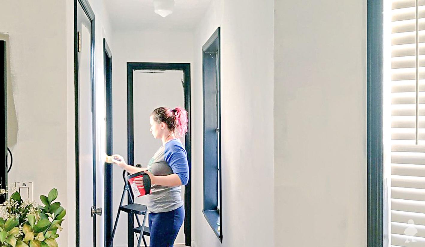 master suite progress - sarah painting