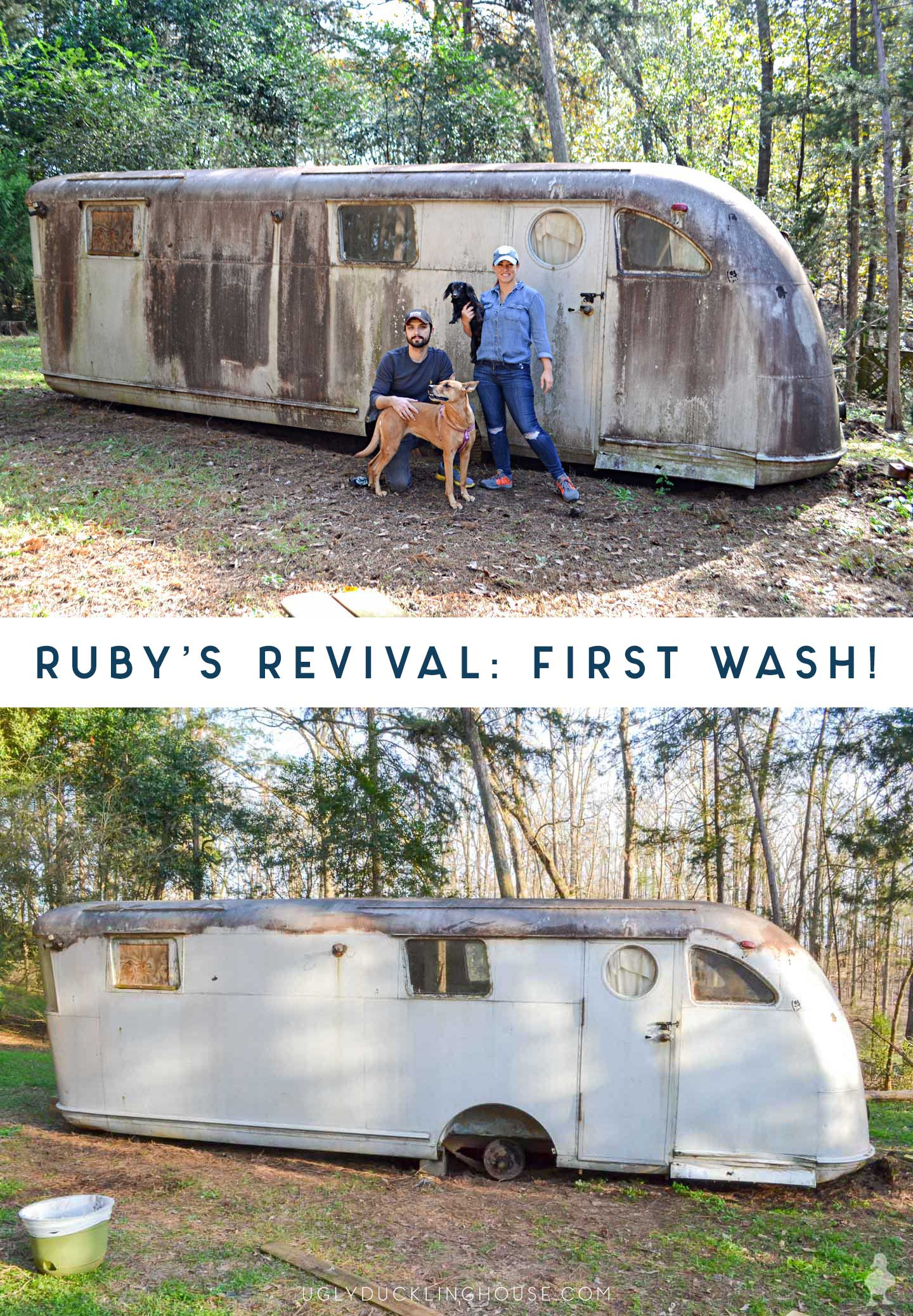 ruby's first wash