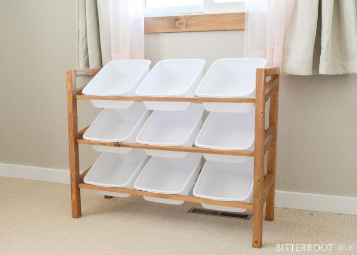 DIY Storage Shelf