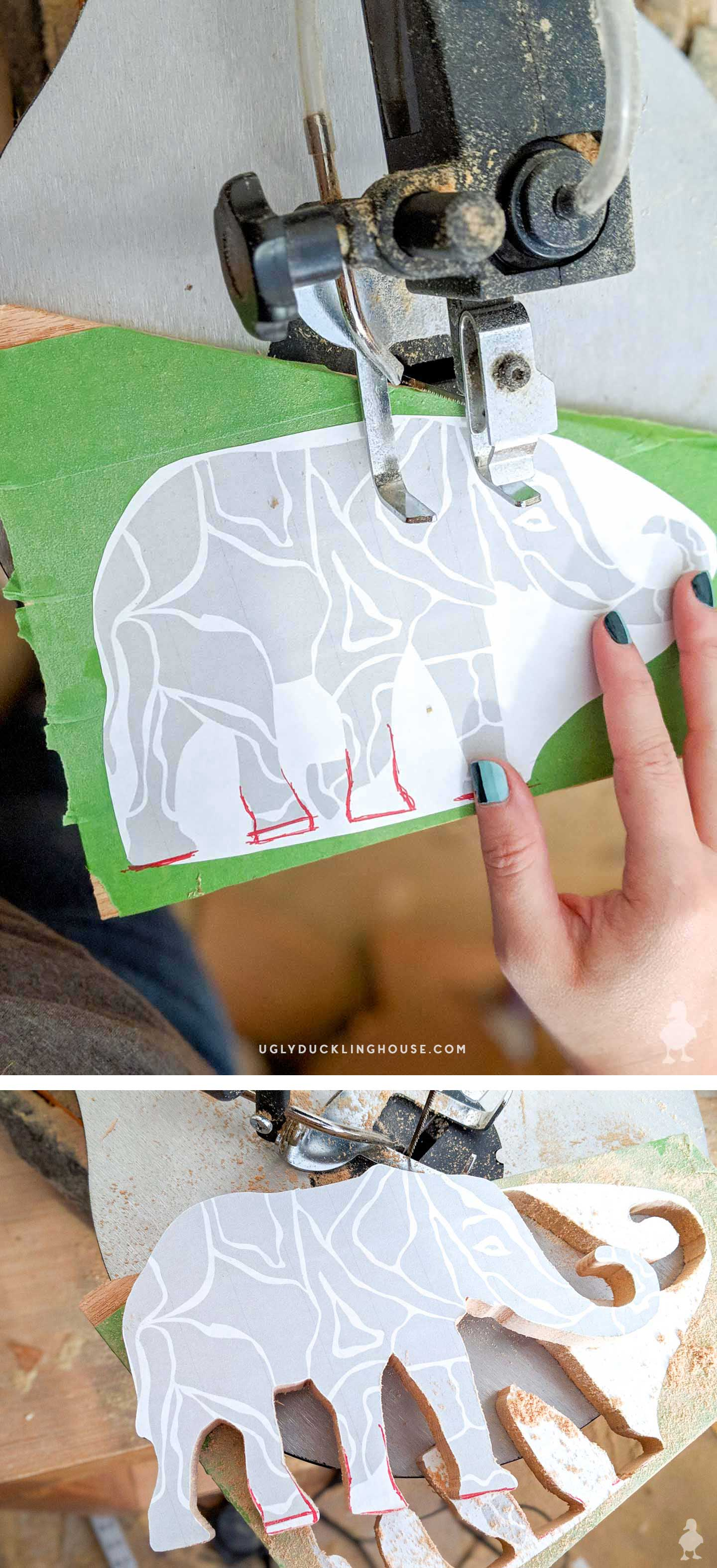 diy wooden elephant puzzle - how to make your own wood puzzles