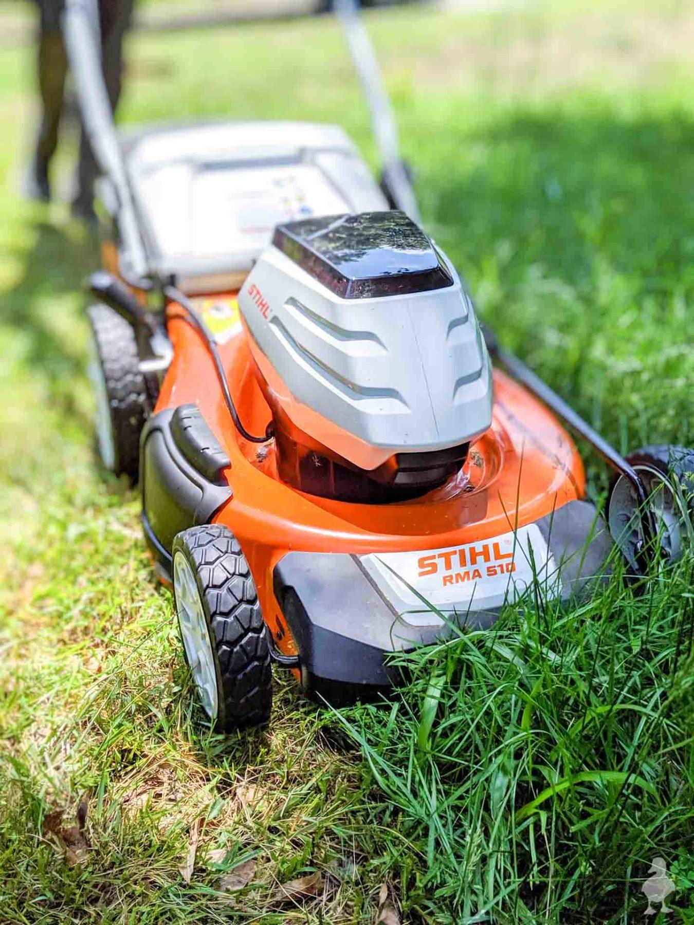 STIHL battery powered mower