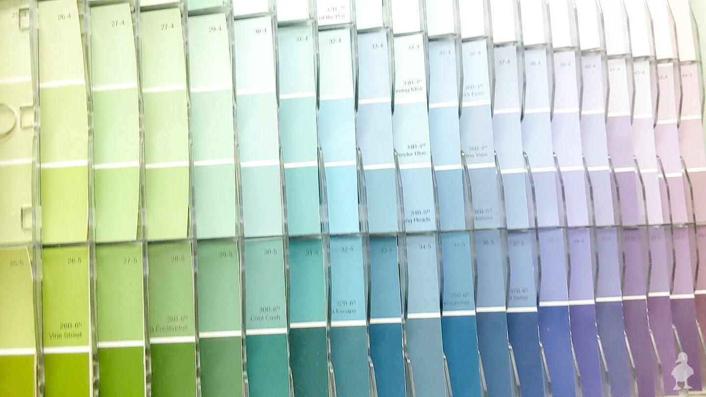 clark + kensington paint swatches