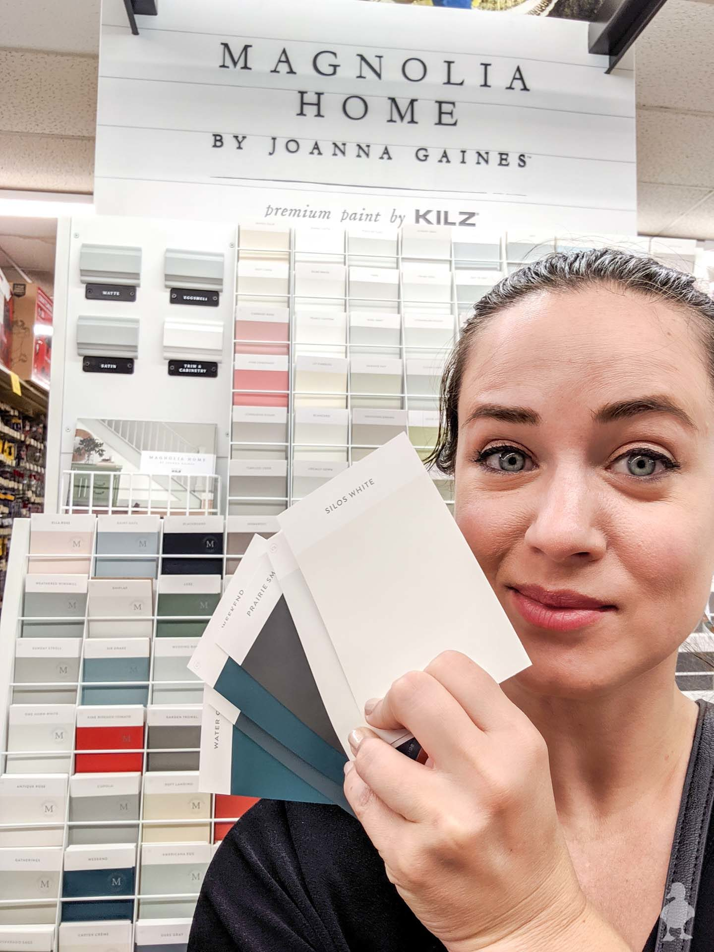 Magnolia Home paint line at Ace Hardware