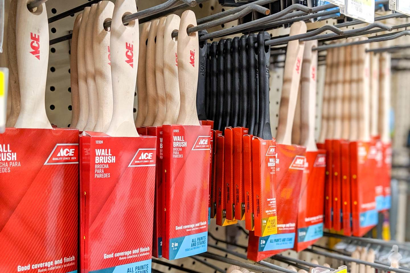 paintbrushes for sale at ace hardware