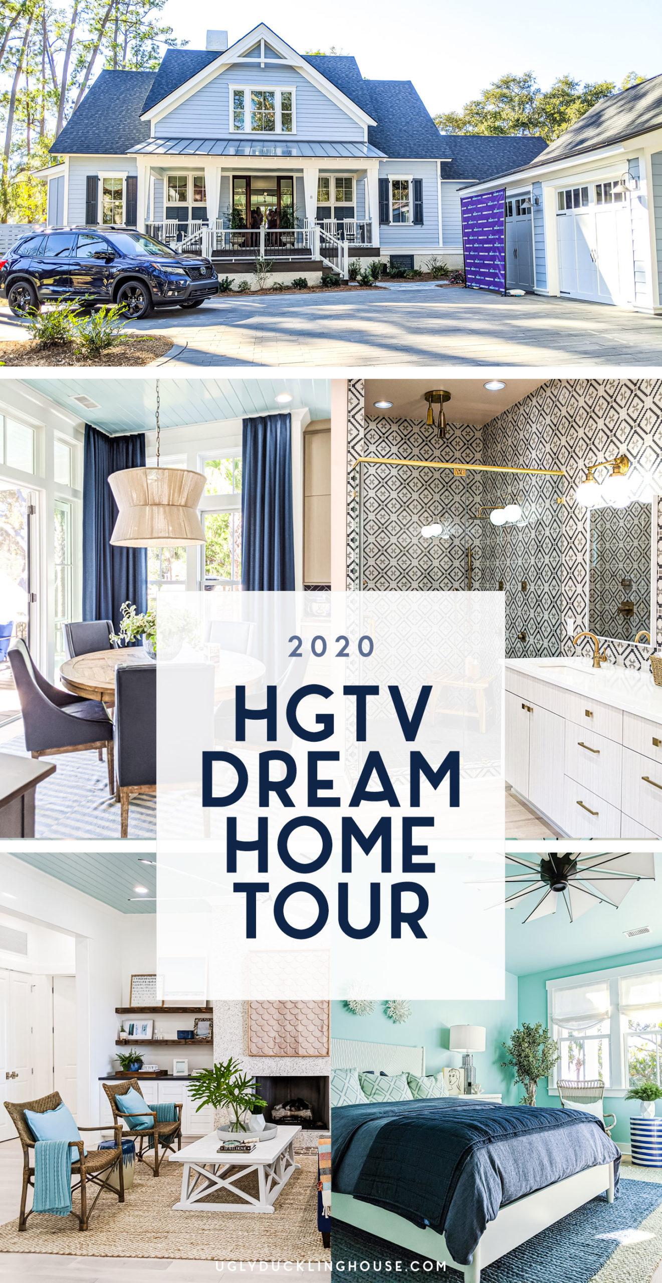 2020 HGTV dream home house tour and video tour