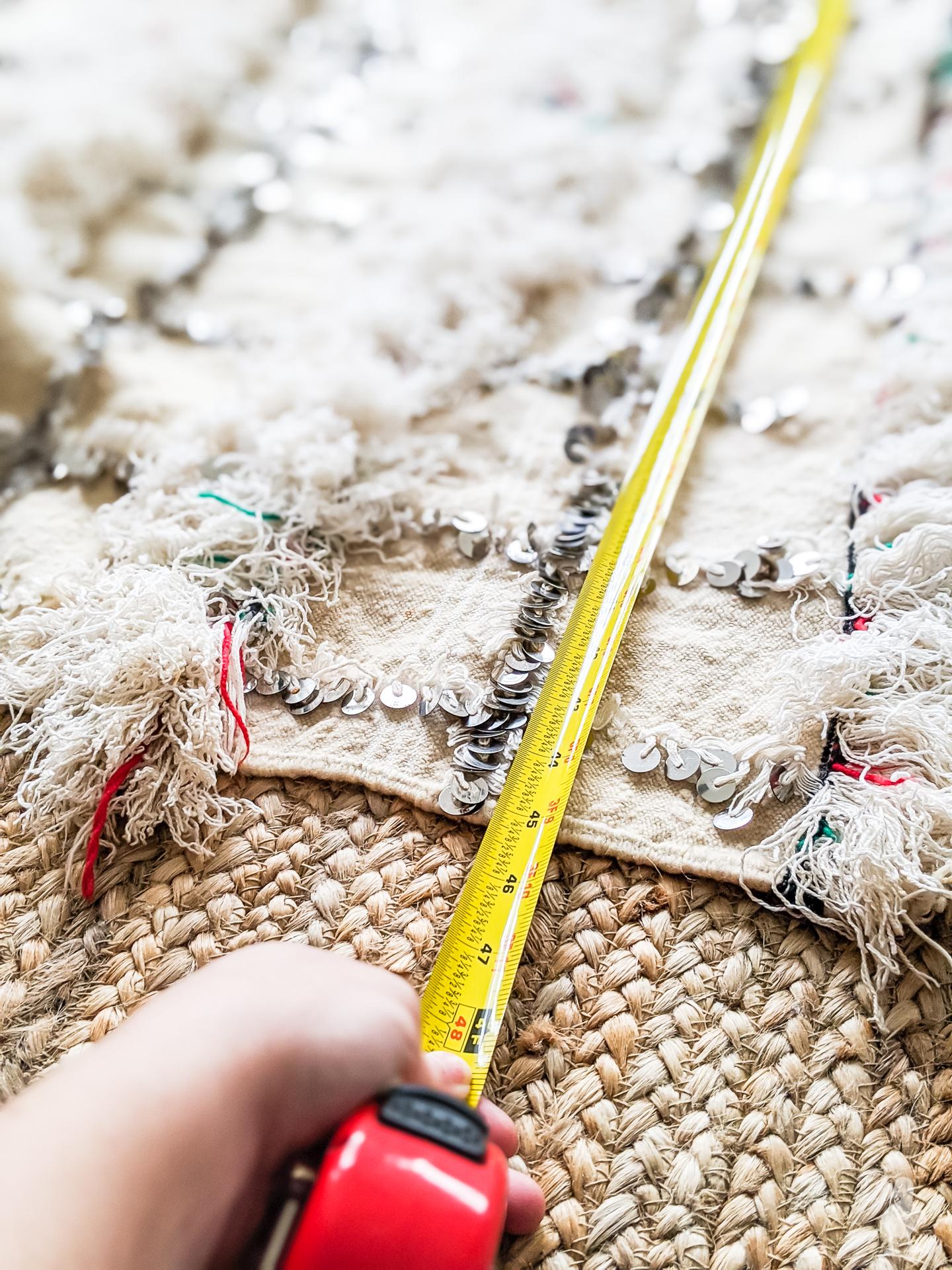 measure blanket width