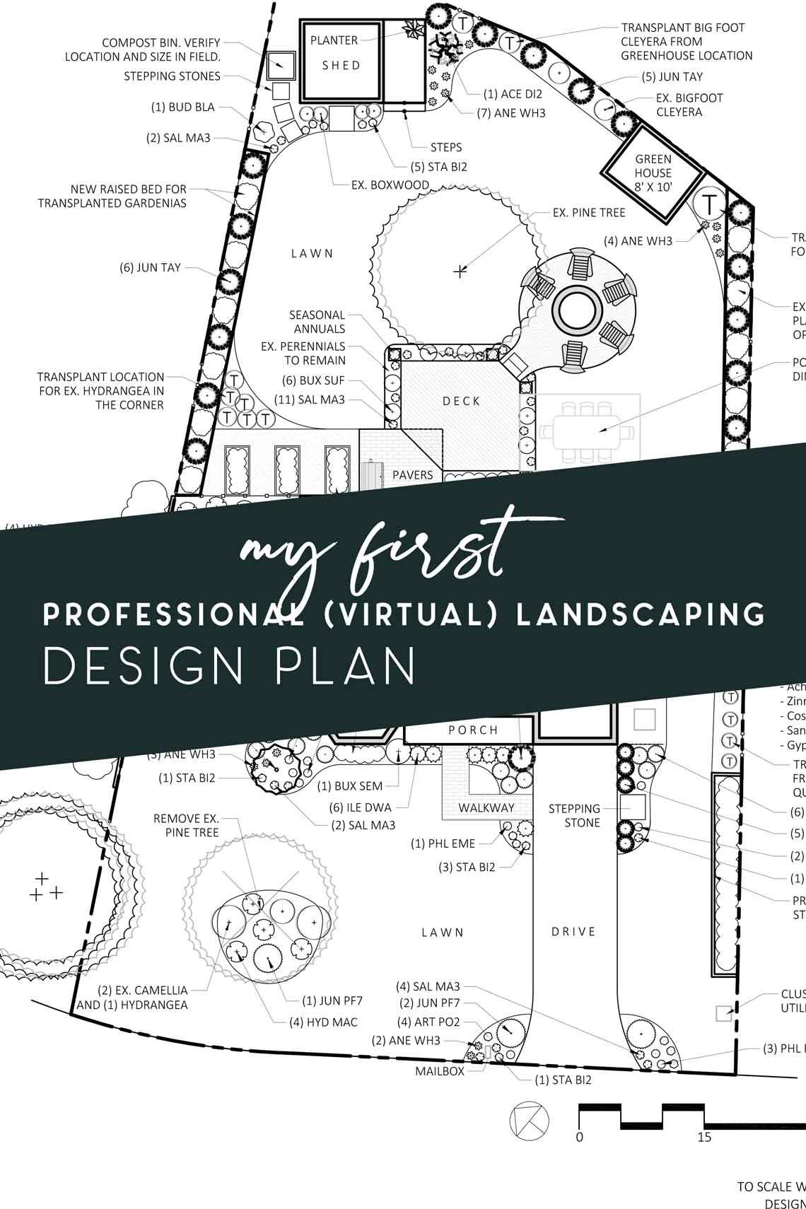 professional virtual landscaping design plan