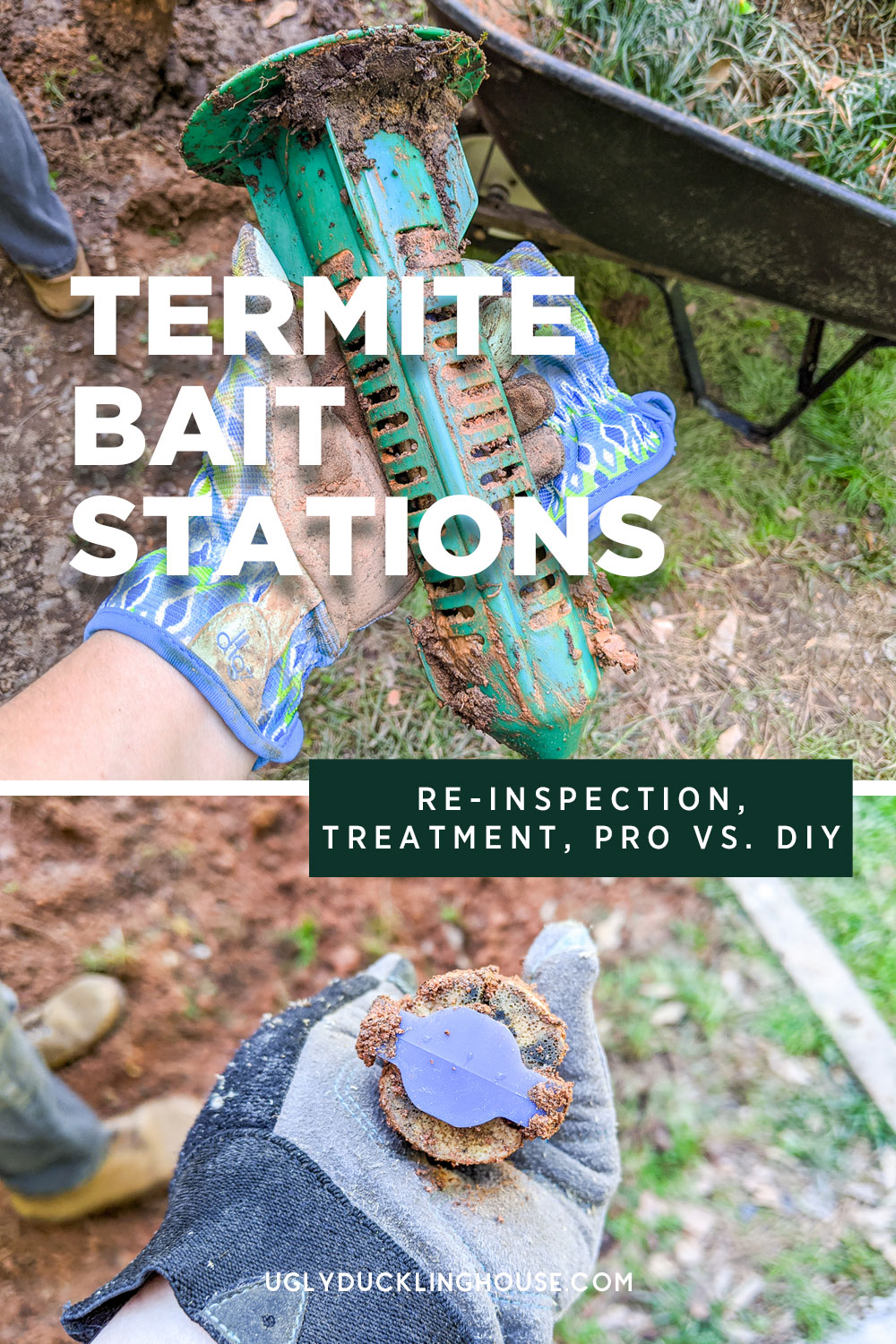 termite follow up with sentricon bait stations