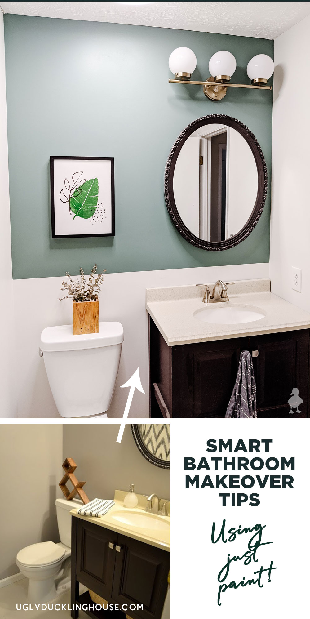tips for paint in a small bathroom