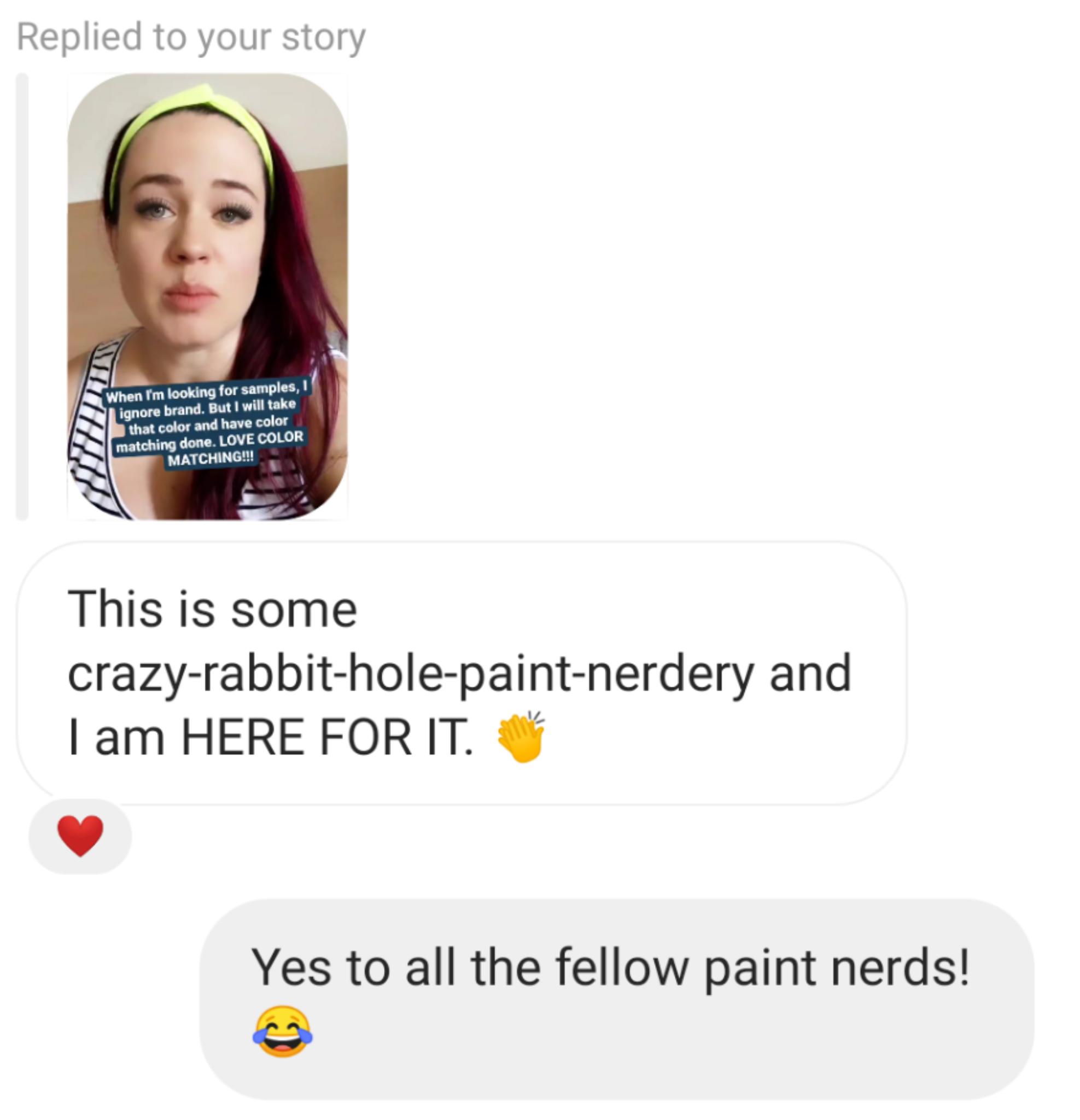 rabbit hole paint color nerdery